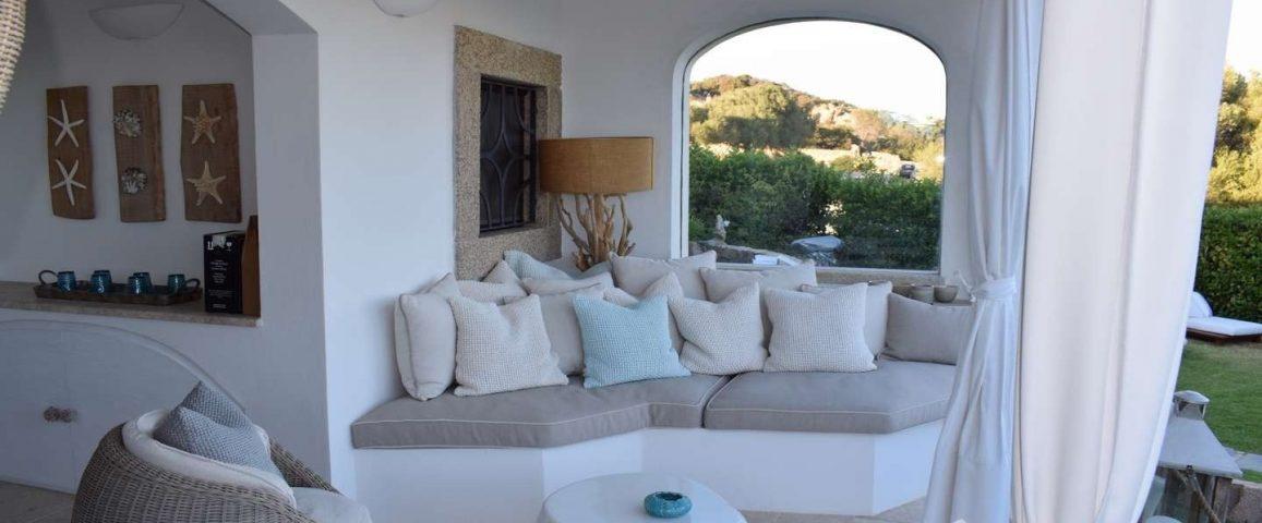 Sea View House for Sale in Abbiadori Porto Cervo
