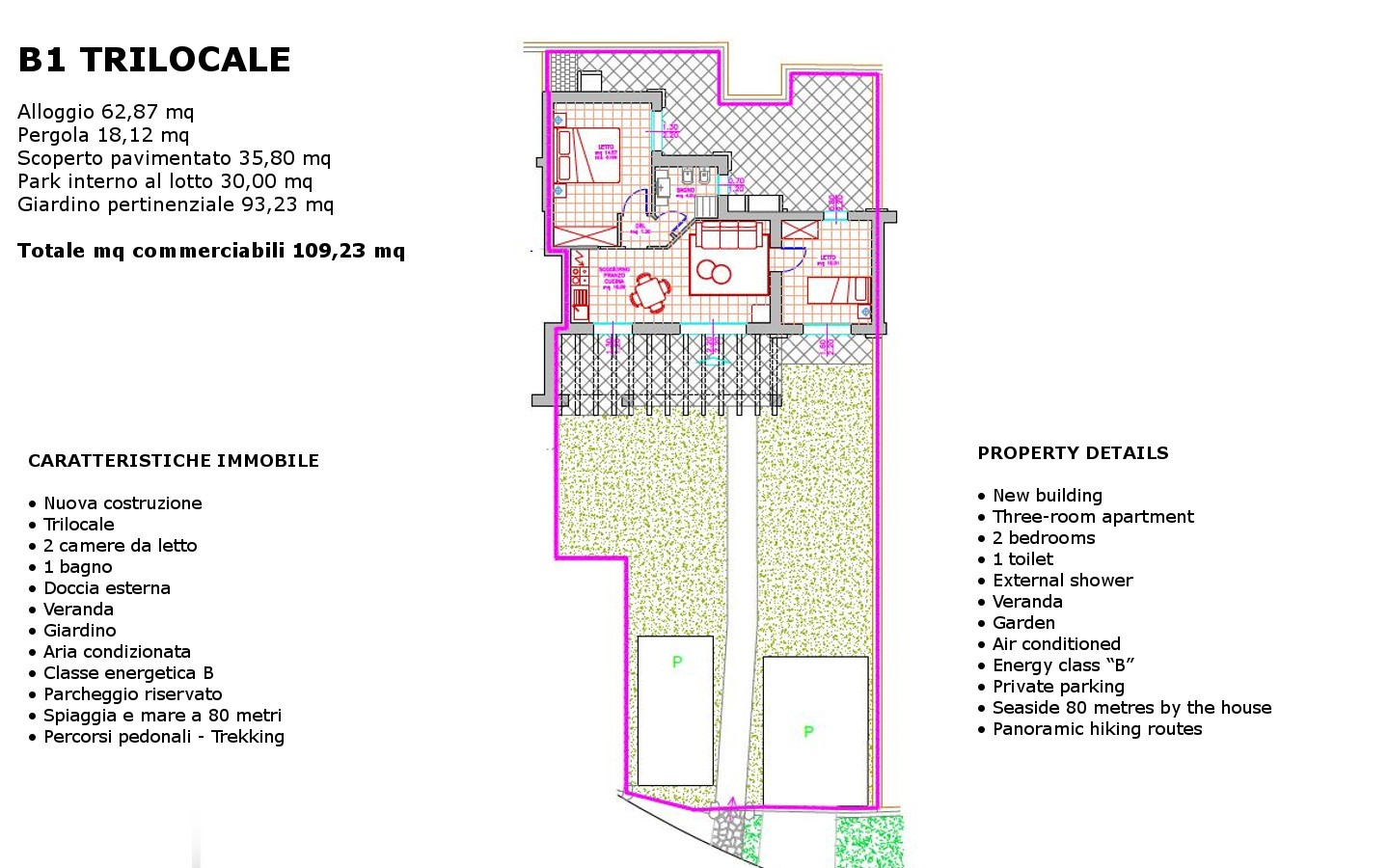 Attractive new  houses  for sale Budoni ref.Lar